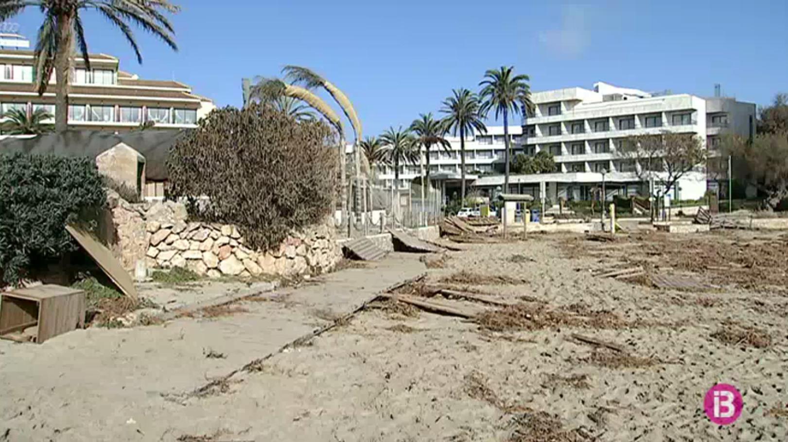 Hotelers+i+ajuntaments+regeneraran+la+platja+de+Cala+Millor+si+no+ho+fa+Costes