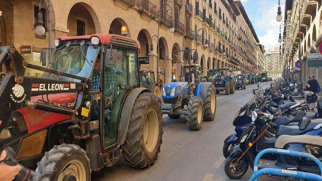 Tractorada+hist%C3%B2rica+pels+carrers+de+Palma