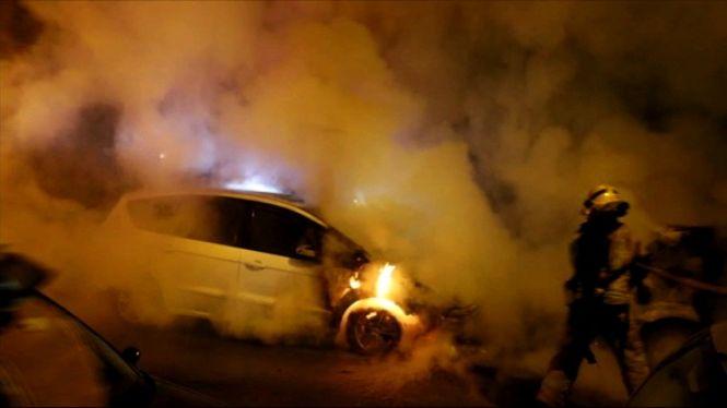 Dos+cotxes+es+calen+foc+de+matinada+a+Palma
