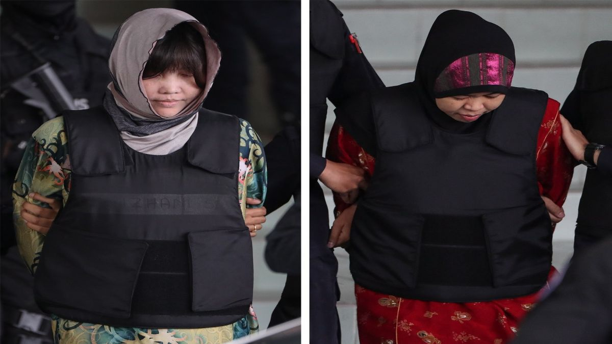 Les+dues+acusades+d%27assassinar+el+germanastre+de+Kim+Jong-un+aniran+a+judici
