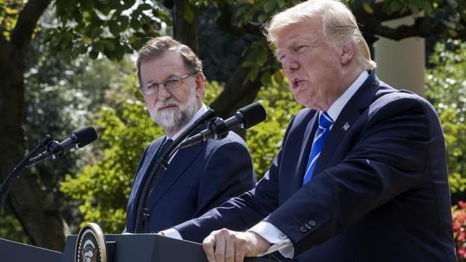Rajoy+troba+en+Trump+un+peculiar+aliat+en+el+repte+independentista