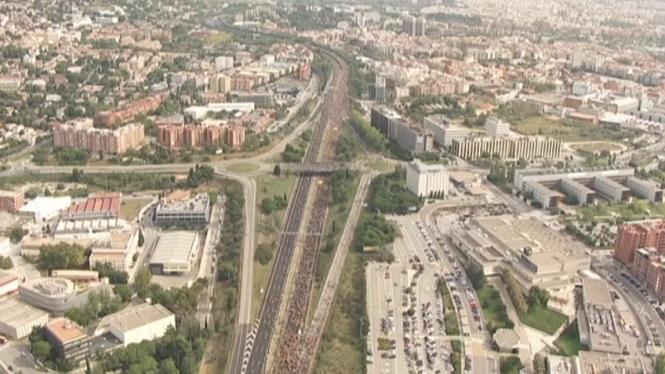 Arriben+a+Barcelona+les+Marxes+per+la+Llibertat