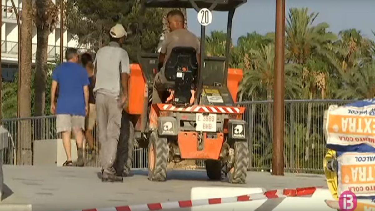 Les+obres+del+passeig+de+ses+Figueretes%2C+un+entrebanc+per+la+temporada+tur%C3%ADstica