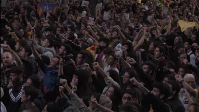 Continuen+les+protestes+a+Catalunya