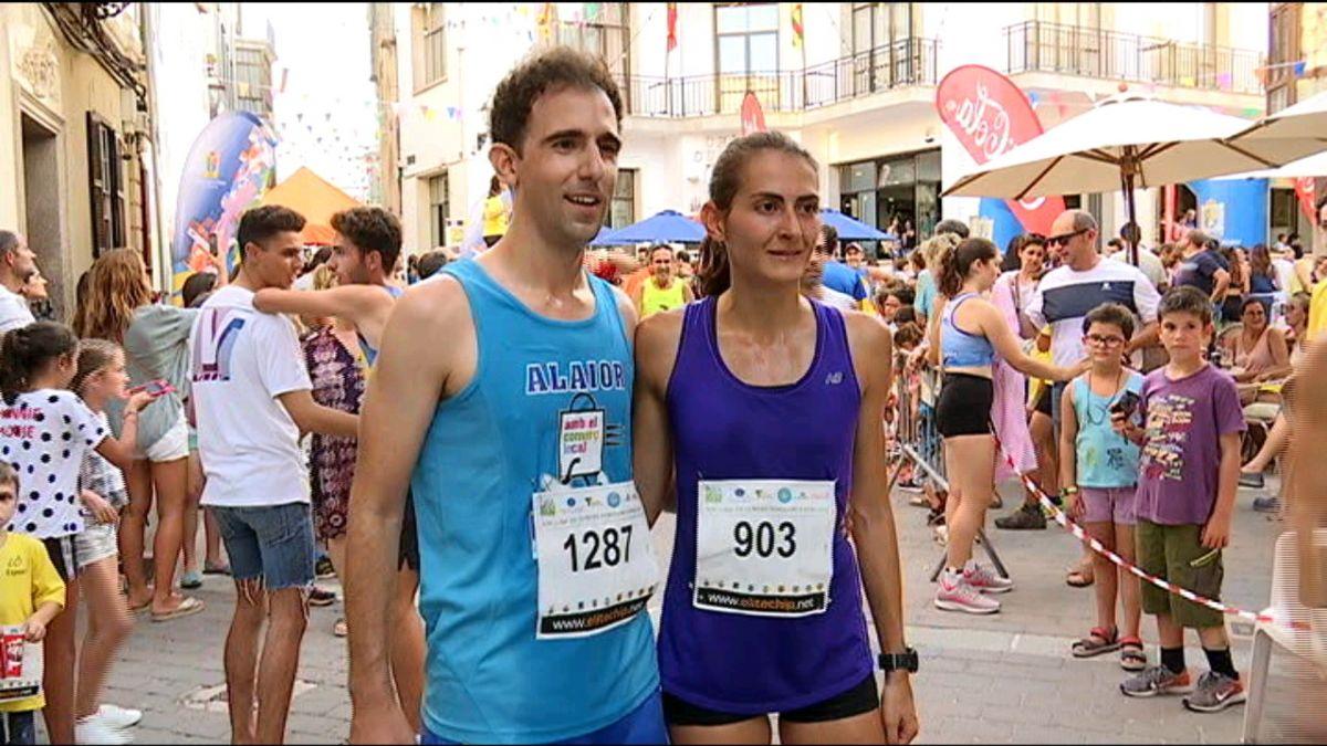 Rafel+Quintana+i+Marina+Bagur+triomfen+a+la+cursa+de+Sant+Lloren%C3%A7