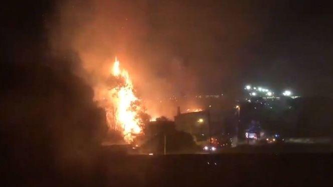 Incendi+de+gran+magnitud+a+una+casa+abandonada+de+Can+Pastilla+a+Palma