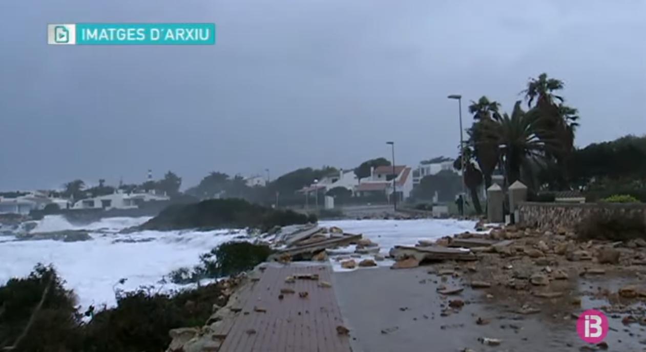 Menorca+comen%C3%A7ar%C3%A0+a+reparar+aquesta+setmana+els+efectes+del+temporal+Gl%C3%B2ria