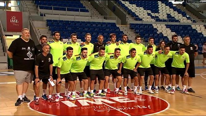 El+Palma+Futsal+arranca+la+pretemporada