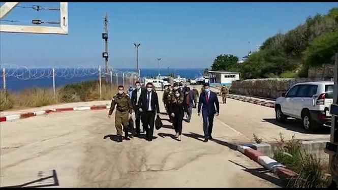 Israelians+i+libanesos+parlen+sobre+la+frontera+mar%C3%ADtima