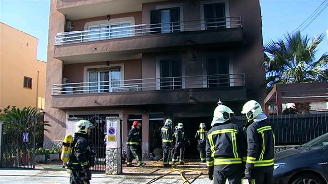 Els+Bombers+sufoquen+un+incendi+a+un+garatge+del+Pont+d%27Inca