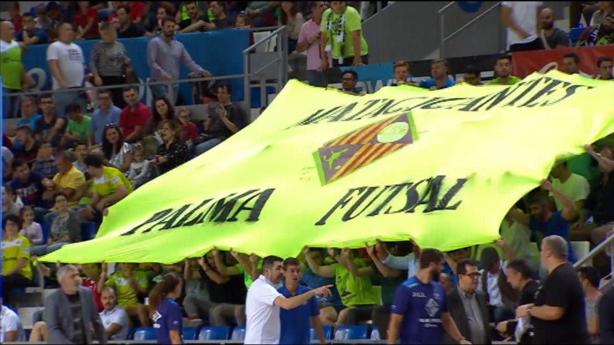El+Palma+Futsal+cerca+contra+ElPozo+una+nit+per+recordar
