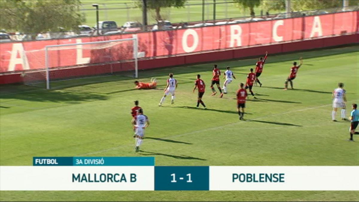 El+Poblense+continua+l%C3%ADder+despr%C3%A9s+d%27empatar+contra+el+Mallorca+B