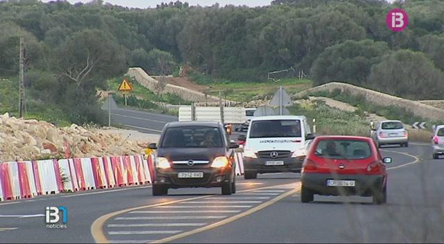 El+Consell+de+Menorca+espera+reprendre+les+obres+de+millora+de+la+carretera+entre+Ma%C3%B3+i+Alaior+abans+que+acabi+l%27any