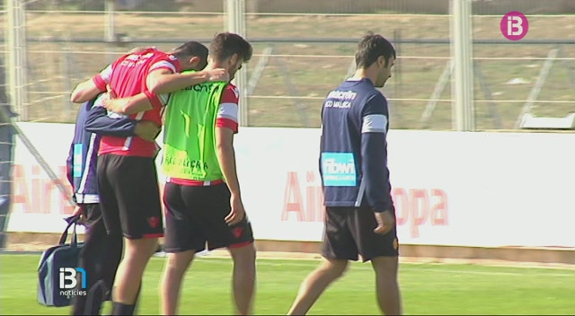 El+jugador+del+Mallorca+%C3%81lex+Vallejo+recau+de+la+lesi%C3%B3+al+genoll+dret