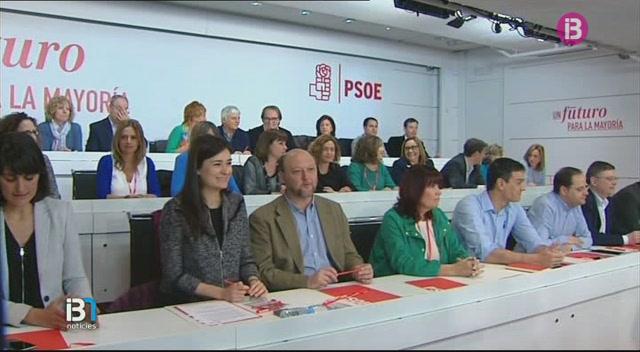 El+l%C3%ADder+socialista%2C+Pedro+S%C3%A1nchez%2C+afronta+avui+el+Comit%C3%A8+Federal+del+PSOE+amb+el+debat+de+les+llistes+obertes