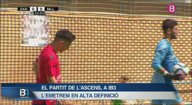 El+partit+de+l%27ascens+a+Segona+B+entre+el+Mallorca+B+i+el+Saragossa+B+es+podr%C3%A0+veure+per+IB3