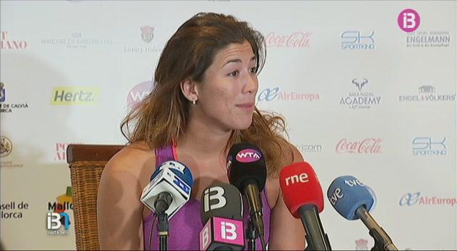 Muguruza%2C+il%E2%80%A2lusionada+i+sorpresa+amb+el+gran+cartell+del+Mallorca+Open