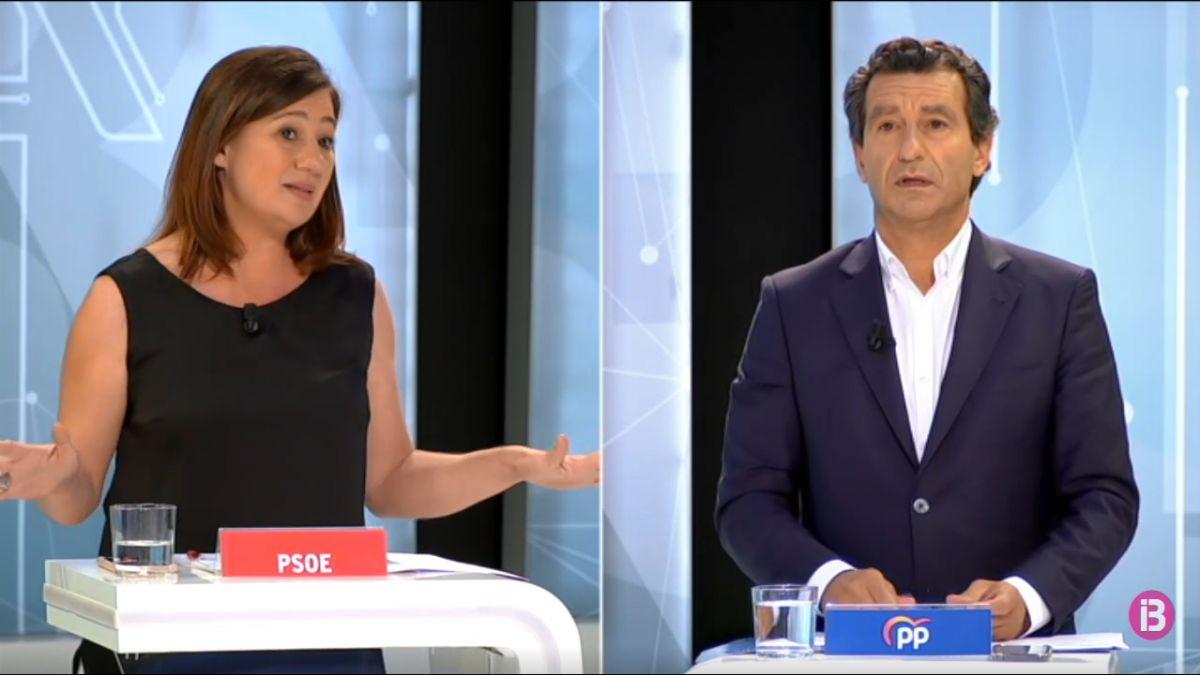 Cara+a+cara+electoral+d%27IB3+entre+Francina+Armengol+i+Biel+Company