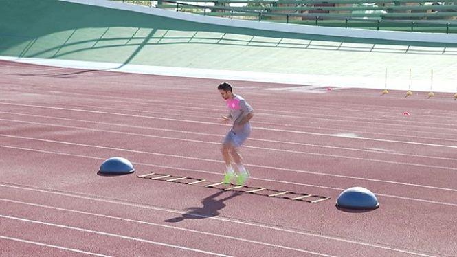 El+Palma+Futsal+canvia+el+parquet+per+les+pistes+de+Son+Moix+a+la+tornada+als+entrenaments