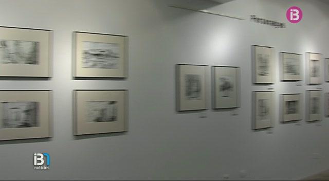 L%27eivissenc+Joan+Escandell+ha+retratat+amb+tinta+xinesa+la+vida+a+Dalt+Vila+durant+els+anys+50