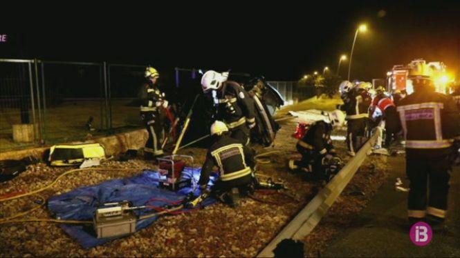 Mor+una+jove+de+20+anys+en+un+accident+de+tr%C3%A0nsit+a+la+carretera+Palma-Manacor