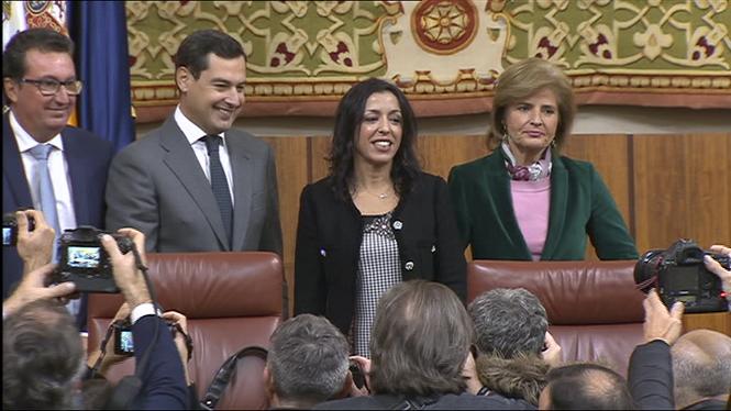 El+Parlament+andal%C3%BAs+consuma+un+gir+a+la+dreta+amb+el+suport+de+Vox
