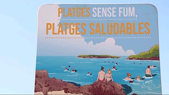 Tres+platges+de+Mallorca+promouen+no+fumar+damunt+l%27arena