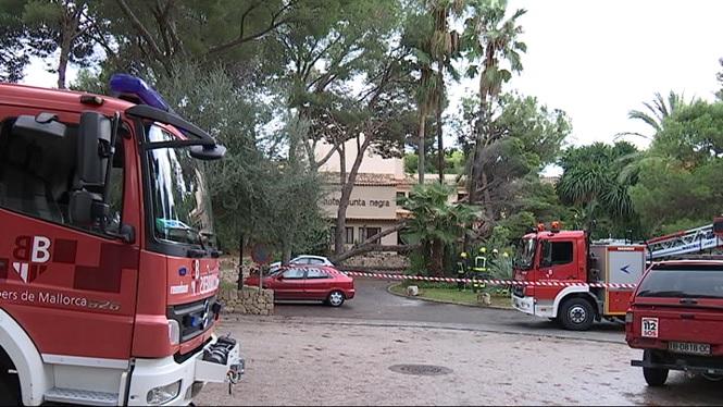 El+temporal+deixa+134+incidents+a+Mallorca