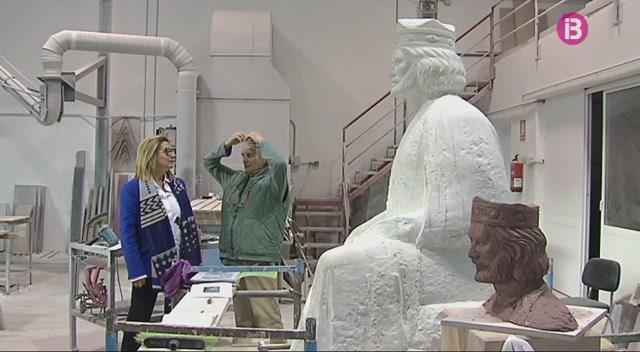 Alaior+tendr%C3%A0+una+escultura+dedicada+al+rei+Jaume+II+de+Mallorca