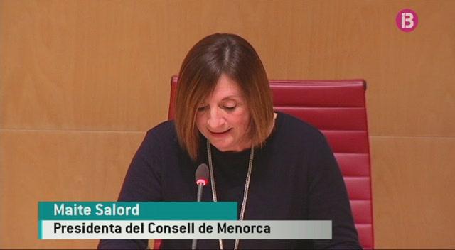 La+presidenta+del+Consell+de+Menorca+reclama+a+l%27Estat+m%C3%A9s+finan%C3%A7ament+per+a+les+illes