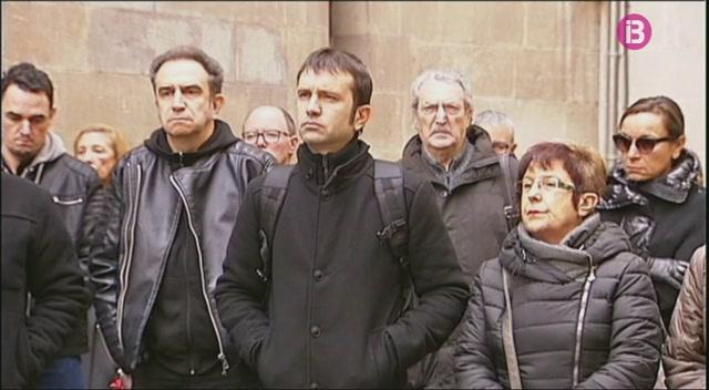 Minut+de+silenci+en+record+dels+dos+agents+rurals+morts+a+Lleida
