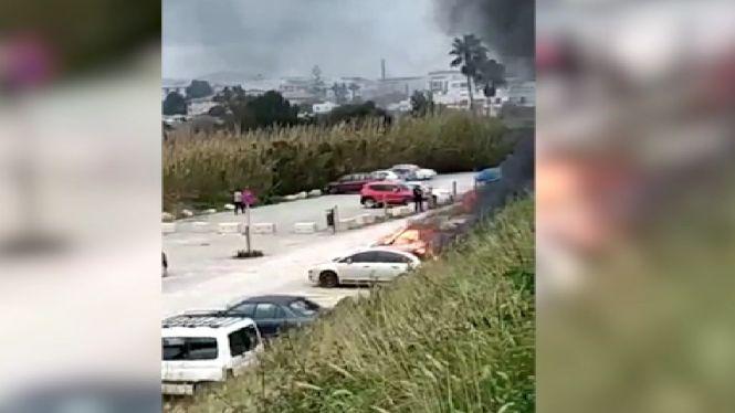 Un+incendi+crema+tres+vehicles+a+un+aparcament+de+Santa+Eul%C3%A0ria