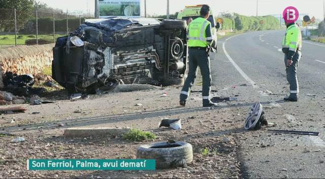 Dues+persones+ferides+en+dos+accidents+a+Mallorca