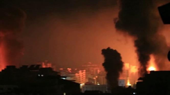 Setena+nit+seguida+de+bombardejos+a+Gaza+per+part+d%27avions+israelians