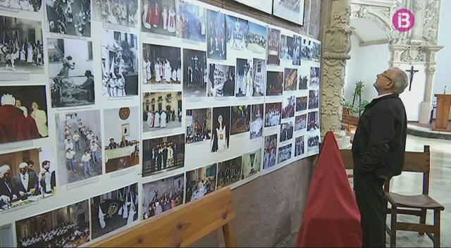 La+confraria+del+Via+Crucis+de+Sant+Francesc+compleix+75+anys