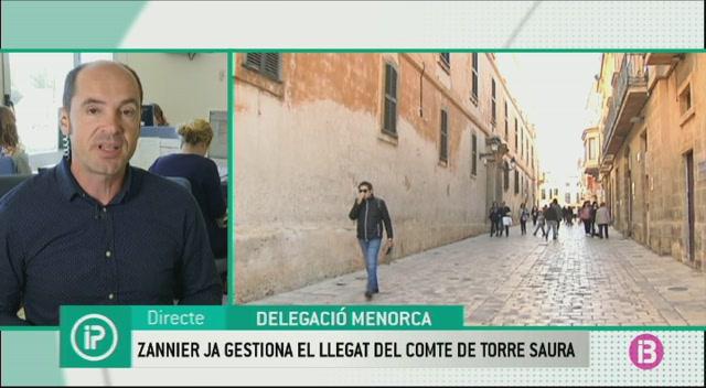 Zannier+ja+gestiona+l%27her%C3%A8ncia+del+comte+de+Torre+Saura+a+Ciutadella