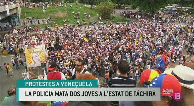 Dos+joves+morts+a+una+nova+jornada+de+protestes+a+Vene%C3%A7uela