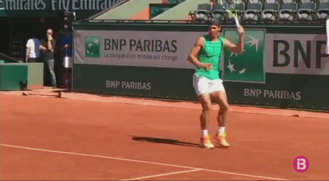 Nadal+arriba+a+Roland+Garros+amb+bones+sensacions