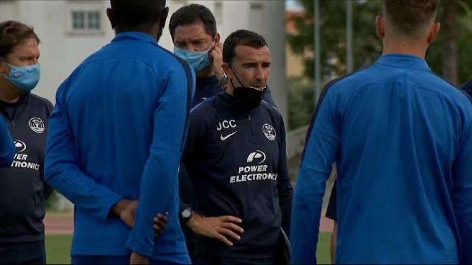 Primer+entrenament+de+la+UD+Eivissa+a+Portugal