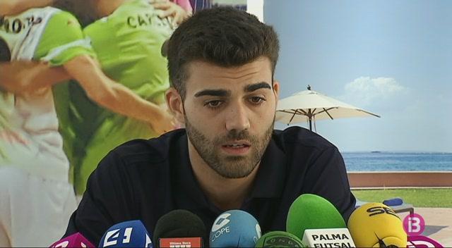 David+Pazos%2C+presentat+amb+el+Palma+Futsal