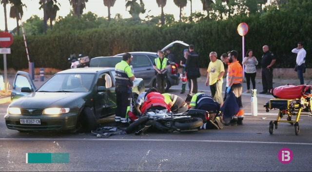 Mor+un+motorista+que+va+patir+un+accident+el+passat+mes+de+maig