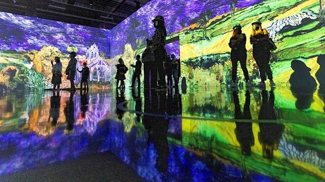 Obres+de+Van+Gogh+cobren+vida+en+una+exposici%C3%B3+a+Nova+York+amb+m%C3%BAsica+i+efectes+visuals