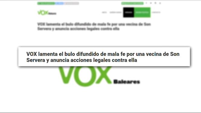 VOX+demana+disculpes+per+donar+difusi%C3%B3+a+la+falsa+den%C3%BAncia+per+agressi%C3%B3+a+Son+Servera