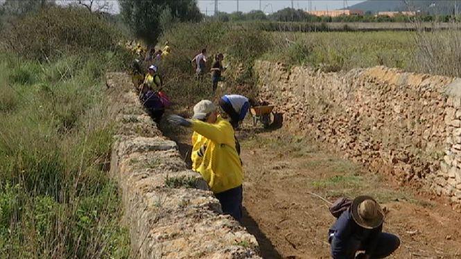 Els+voluntaris+recuperen+un+cam%C3%AD+hist%C3%B2ric+de+Puig+d%27en+Valls