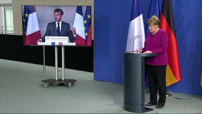 Fran%C3%A7a+i+Alemanya+proposen+crear+un+fons+de+500.000+milions+d%27euros+per+reconstruir+l%27economia+europea