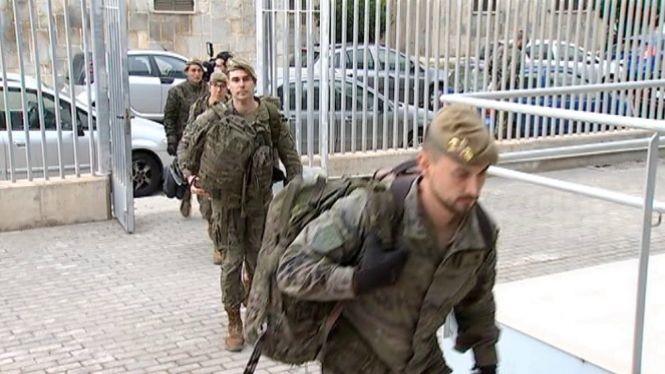 Militars+especialitzats+de+l%27Ex%C3%A8rcit+de+Terra+desinfecten+la+seu+de+la+DGT+a+Palma