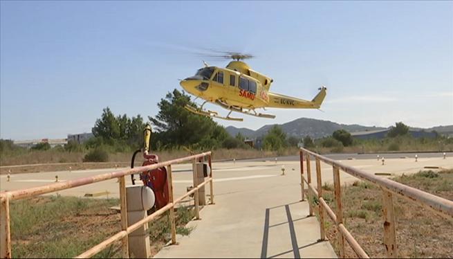 El+transport+aeri+d%27urg%C3%A8ncies+a+Eivissa+es+tornar%C3%A0+a+fer+en+helic%C3%B2pter