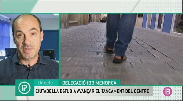 Ciutadella+estudia+avan%C3%A7ar+el+tancament+del+centre+al+tr%C3%A0nsit