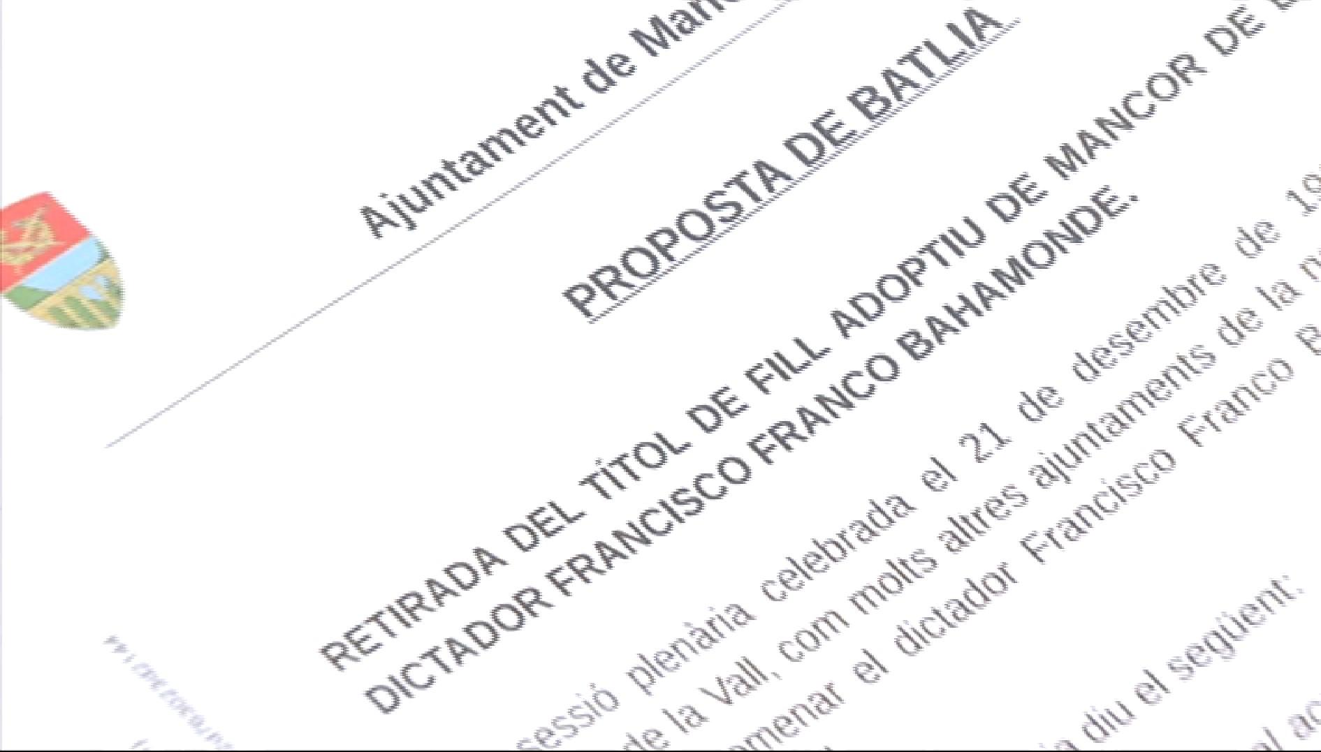 Franco+ja+no+%C3%A9s+fill+adoptiu+de+Mancor+de+la+Vall