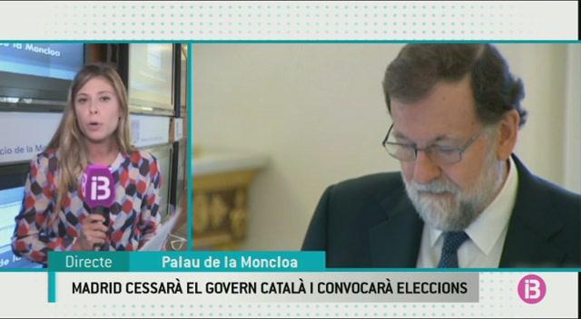 El+Govern+central+cessar%C3%A0+tots+els+alts+c%C3%A0rrecs+de+l%27executiu+catal%C3%A0+i+convocar%C3%A0+eleccions+a+Catalunya+en+un+termini+de+sis+mesos